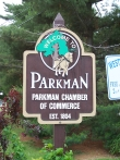Parkman Township Welcome Sign