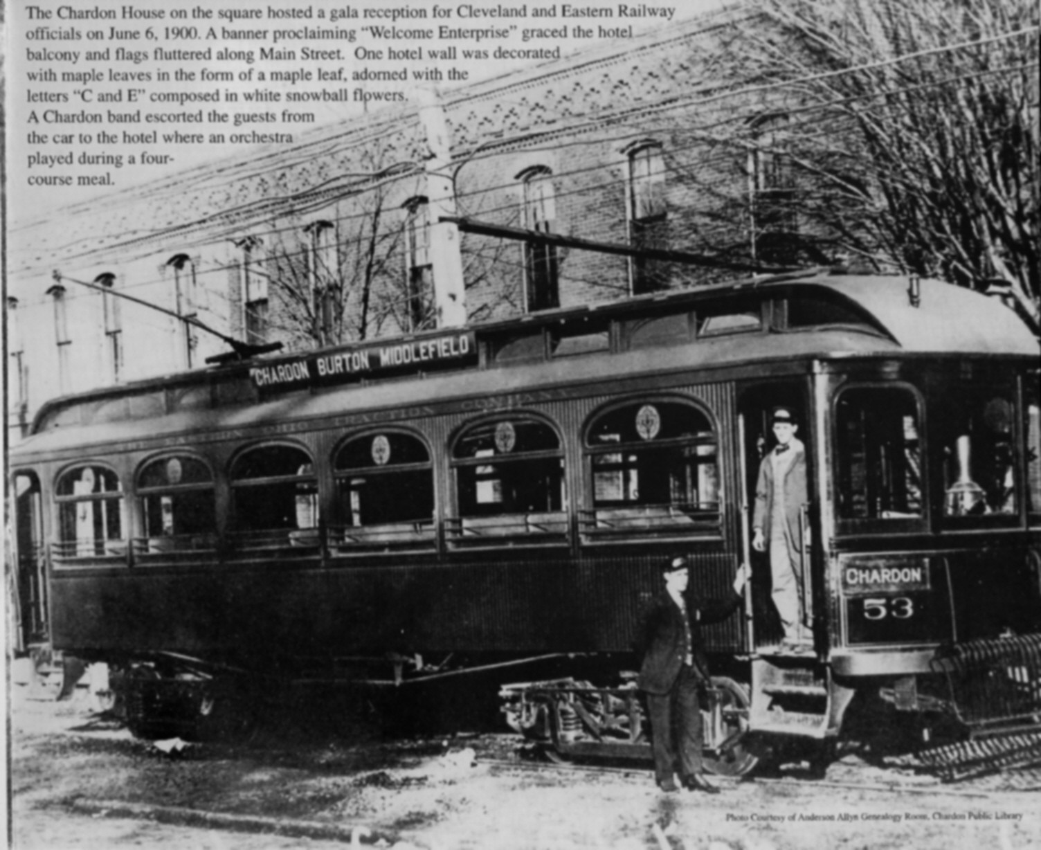 The Interurban in Chardon