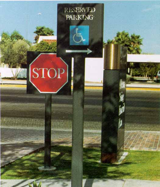 Stop and Reserved Parking